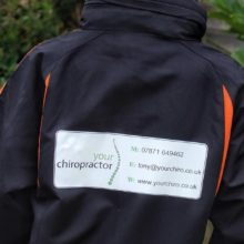 Your Chiropractor Sponsors Local Football Team in Paulton